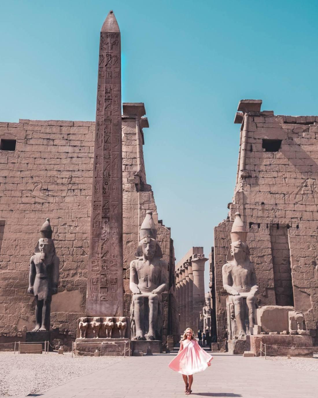 Luxor Temple, egypt travel, egypt photography