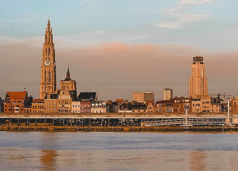 Antwerp skyline, Beautiful Places to Visit in Antwerp