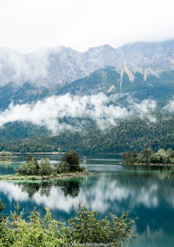 Eibsee Lake In Bayern, Germany
