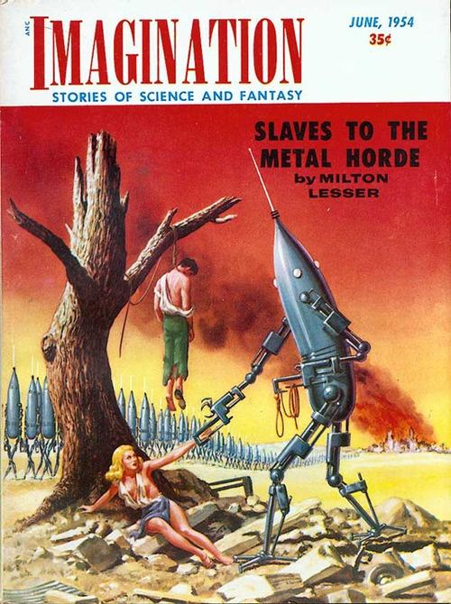 Roboty Władcy były trochę podobne. Muszę dorwać tę książkę, bo okładka jest wielce obiecująca,