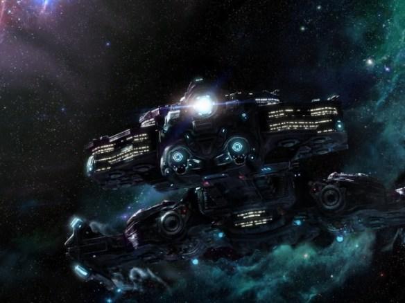 Takie tam kosmiczne statki. Źródło: http://www.zastavki.com/eng/Fantasy/wallpaper-27478.htm