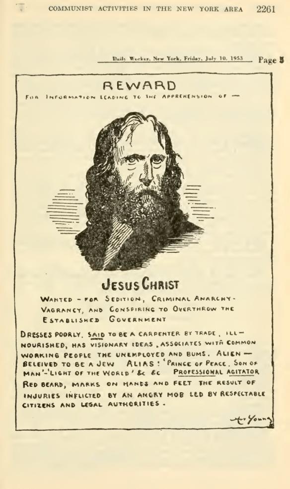 Świetny plakat, z którym wiąże się naprawdę interesująca historia. Źródło: http://www.stanford.edu/~emma/blasphemy/