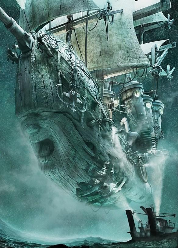 Aż takim steampunkiem tego opowiadania nie czuć, ale coś jest na rzeczy. Źródło: http://www.pinterest.com/pin/37788084342991337/