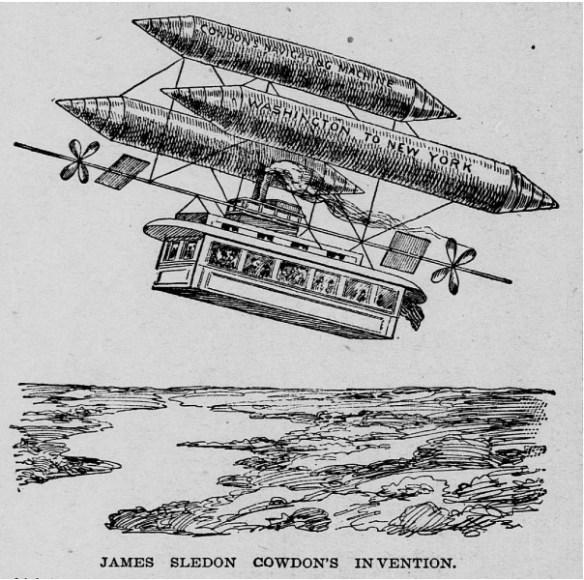 Takie tam latające pojazdy z roku 1897. Źródło: http://www.paleofuture.com/blog/2010/3/10/strange-ships-that-sail-in-the-skies-1897.html
