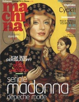 """Pamięta ktoś ten szum jaki wywołała okłada reaktywowanej """"Machiny""""? Źródło: http://hubertgajewski.com/2006/02/21/nowa-machina/"""