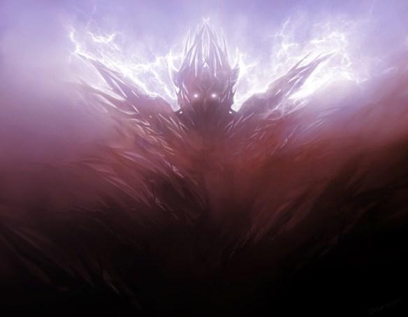 Grafika z devianart. Wyobrażenie Chyżwara ( w oryginale The Shrike) użytkownika Synax444. Źródło: http://www.deviantart.com/art/Pain-Elemental-158111913