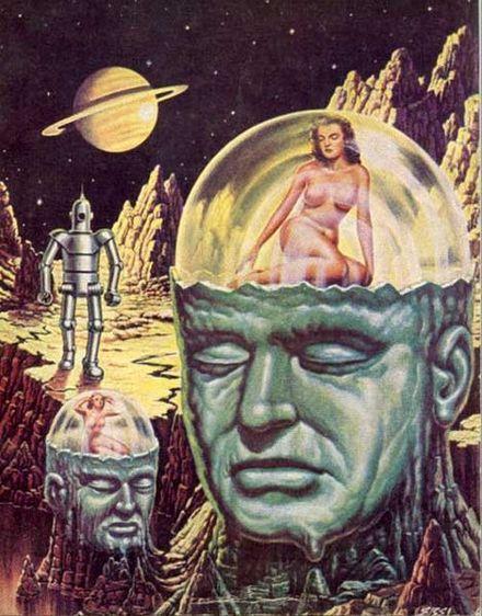 Czy ten rysunek wydaje się Wam schematyczny? Źródło: http://theatomichouse.tumblr.com/post/15038371251/spacebitches