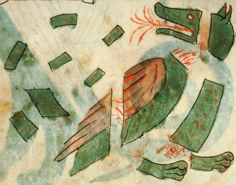 Smok w kawałkach. Źródło: http://discardingimages.tumblr.com/post/96020042638/dragon-in-pieces-book-of-daniel-14-23-27