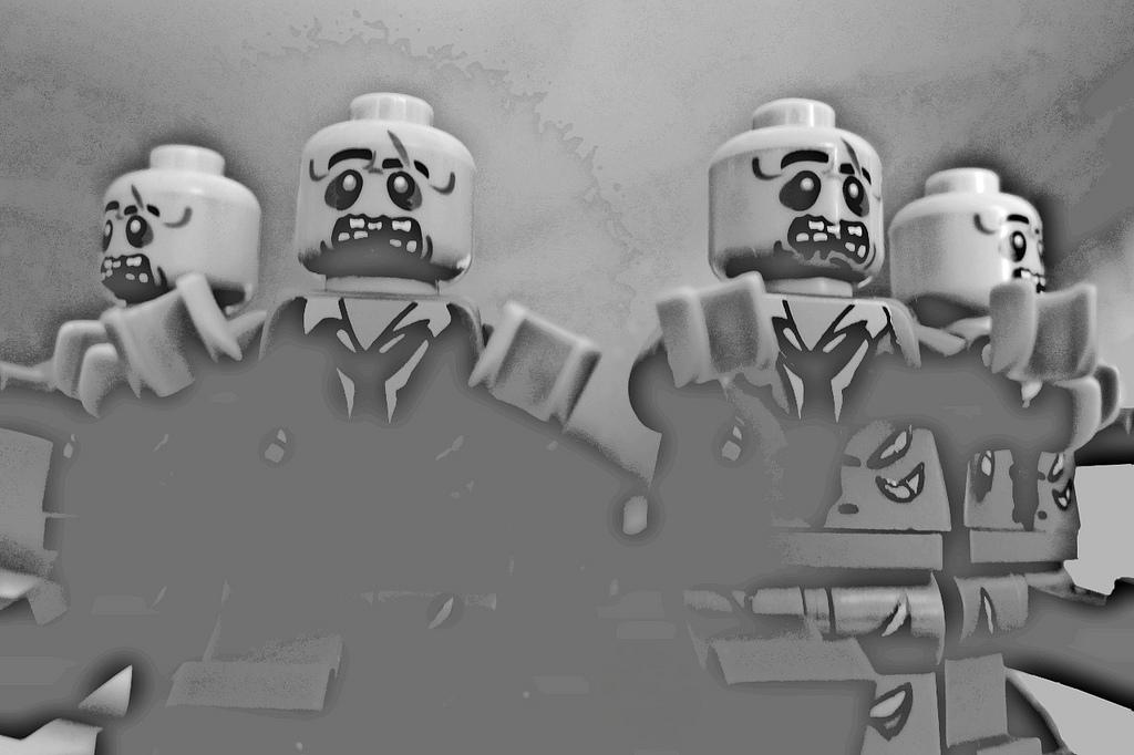 Lego zombie to wdzięczny temat. Źródło: https://flic.kr/p/8HQd6h