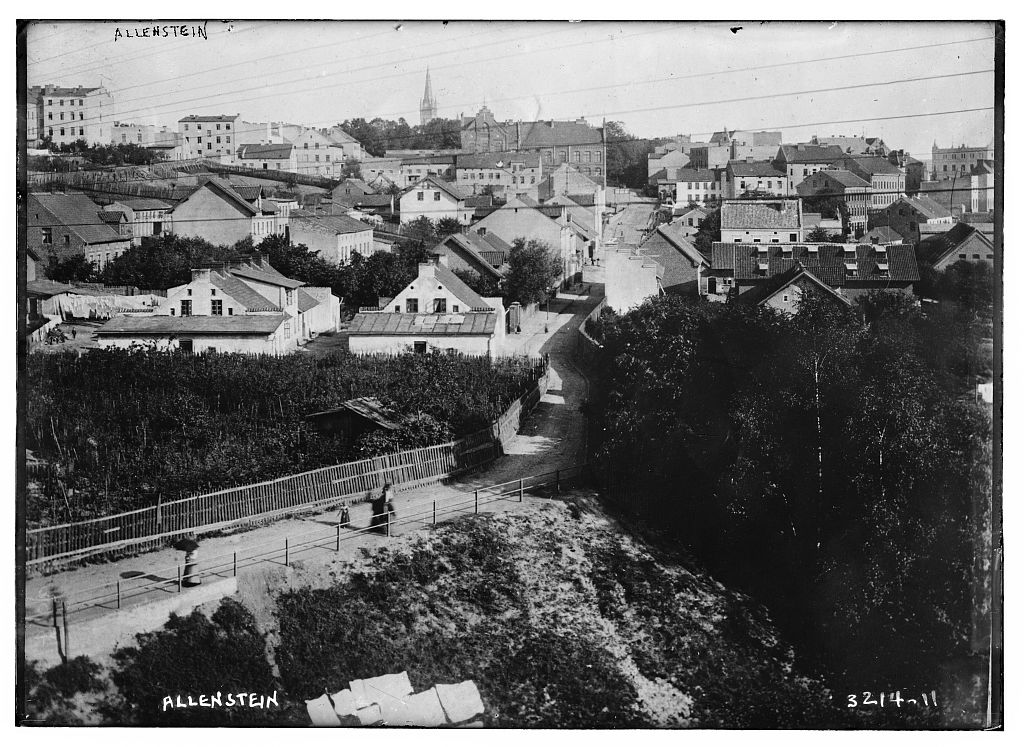 Panorama Olsztyna. Źródło: https://flic.kr/p/aafz53