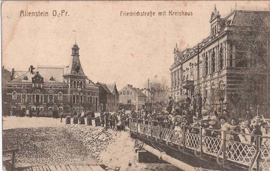 Dawna ulica Friedrichstrasse, obecnie Szrajbera. Źródło: Internety wszelakie