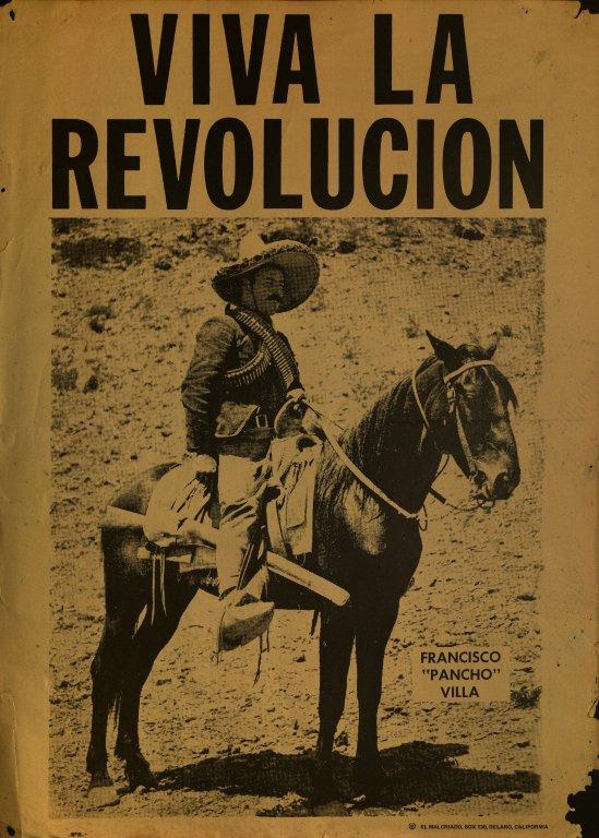 Pancho Villa robił rewolucję. Źródło: https://flic.kr/p/8EQqrQ