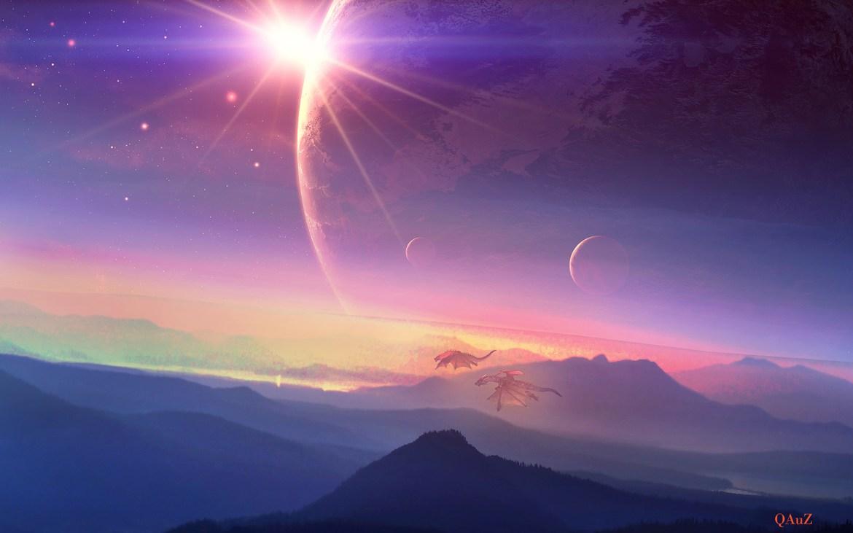 Ach jak pięknie na Majipoorze jest! Źródło: http://www.deviantart.com/art/Peaceful-Sunrise-345738021