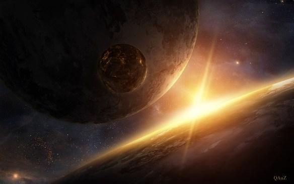 Czy na Majipoorze są satelity? Źródło: http://www.deviantart.com/art/Golden-Light-339690650