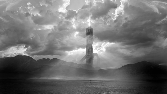 Znów krajobraz mocno fantastyczny. Źródło: http://machiavellicro.deviantart.com/art/The-Dark-Tower-424067670