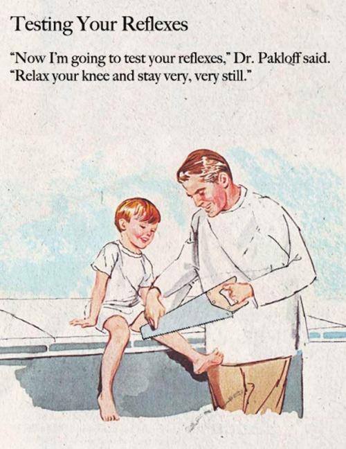 U pana lekarza. Źródło: http://retrogasm.tumblr.com/post/110667704257/haha-via