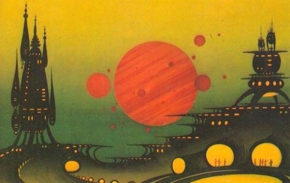 Jedna z artystycznych wizji kosmosu. Źródło: https://www.pinterest.com/pin/497577458803133060/