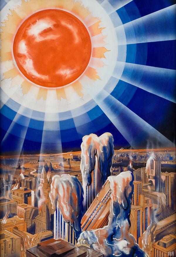 Julian Krupa (American, 20th Century) Źródło: http://50watts.com/Fantastic-Plangent