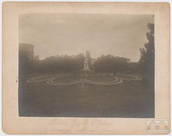 I znowu Planty. Fot. Ignacy Kriger Źródło to samo co w poprzednim zdjęciu.