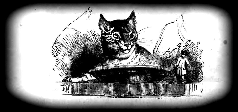 """Ilustracja pochodzi z polskiego wydania """"Podróży Guliwera..."""" z roku 1842. Trochę """"podrasowana"""" przeze mnie."""