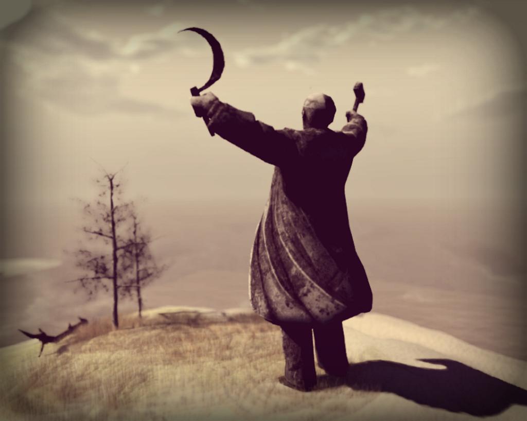 Artystyczna wizja Lenina. Źródło: https://flic.kr/p/eYJw2M