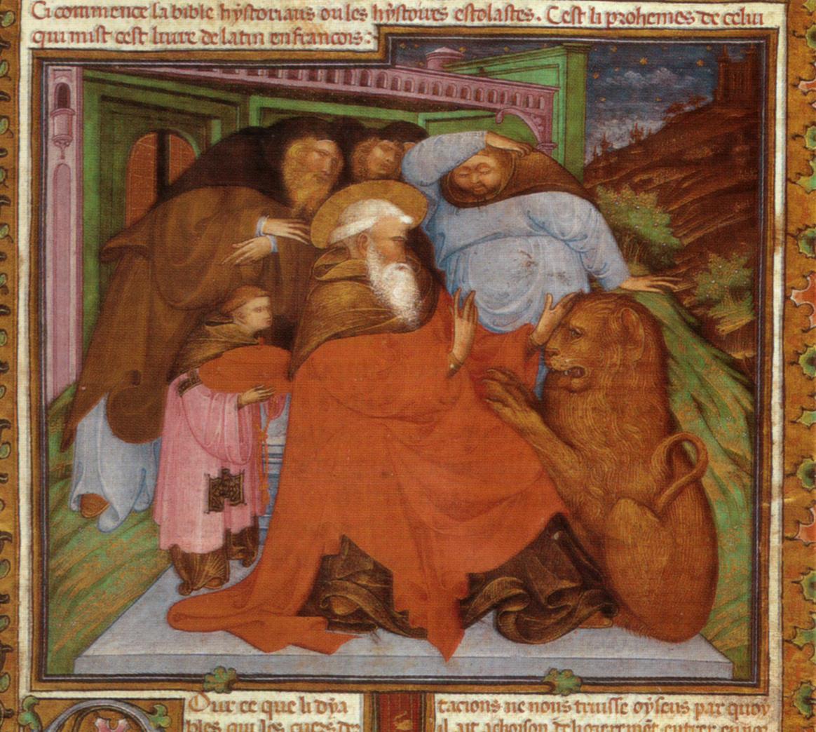 A tu św. Hieronim z lwem.