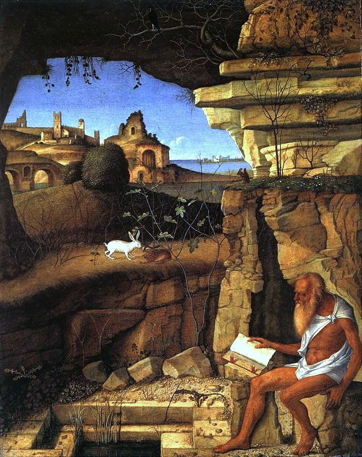 Dzisiaj cały wpis będzie ilustrowany św. Hieronimem