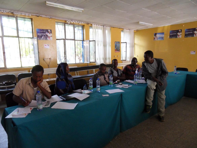 Kobiet wśród kadry nauczycielskiej jest bardzo mało w Etiopii.