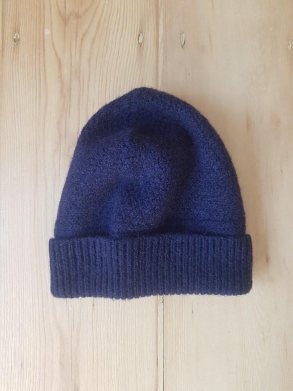 Charl Knitwear Cooper fishermen's beanie hat