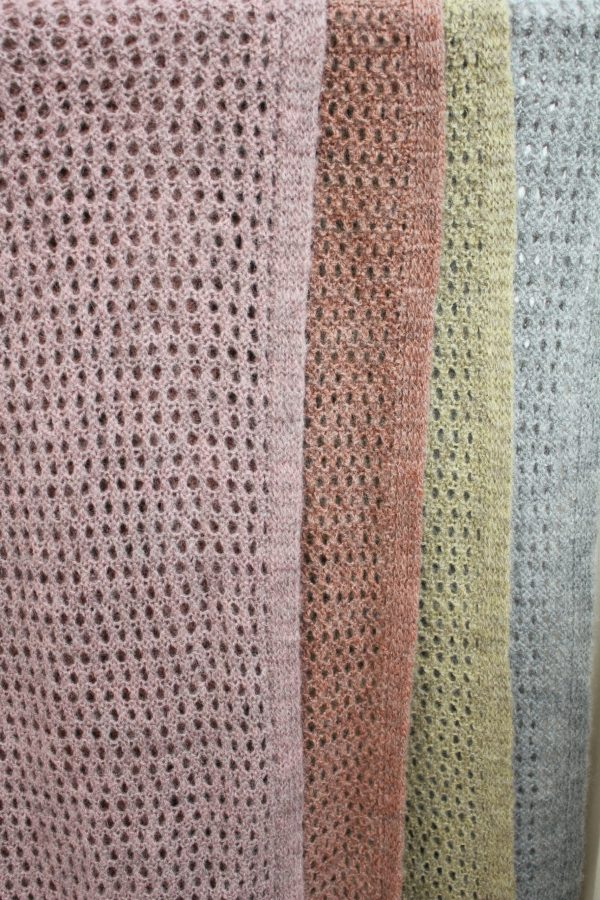 Charl Knitwear Esther open knitted scarf/shawl