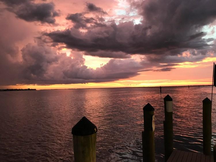 Harpoon Harry's sunset view