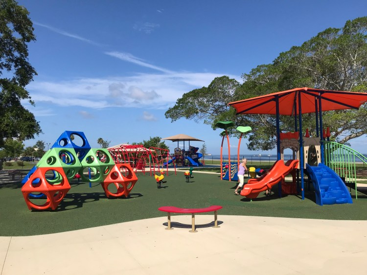 New playground at Gilcrest Park