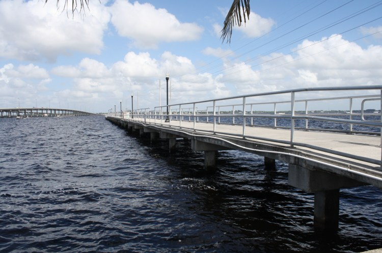 Laishely fishing pier (walking distance from Charlotte House)