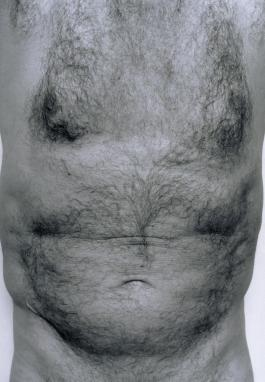 Self-Portrait (Torso, Front) 1984 by John Coplans 1920-2003
