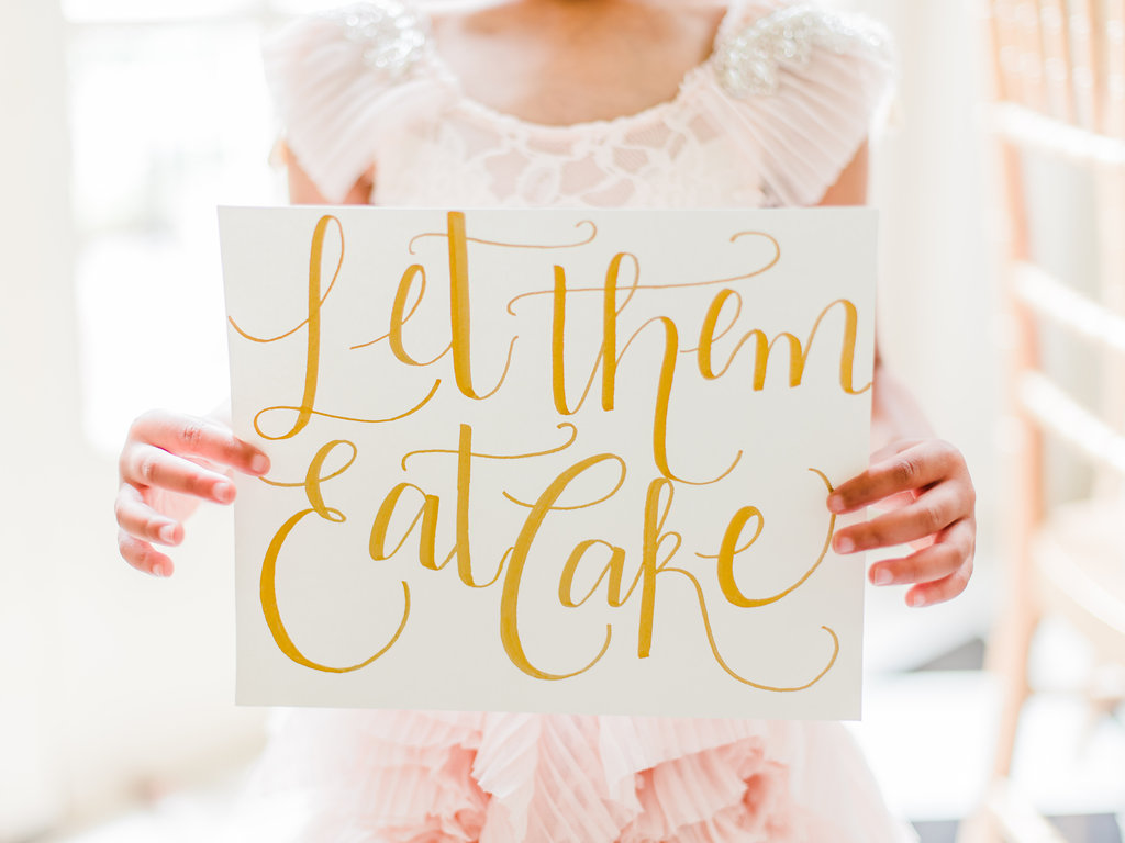 Let Them Eat Cake: Concept Wedding with Inspiration from Marie Antoinette at Charlotte's Duke Mansion
