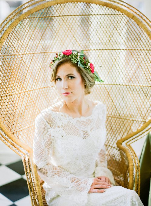 Bohemian Wedding Inspiration On Location at Separk Mansion