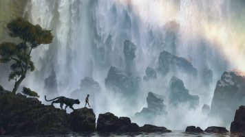 The_Jungle_Book_Concept_Art_JB10_Waterfall_KhanStoryWalk_Bagheera_Mowgli_Sketch_1-848x478