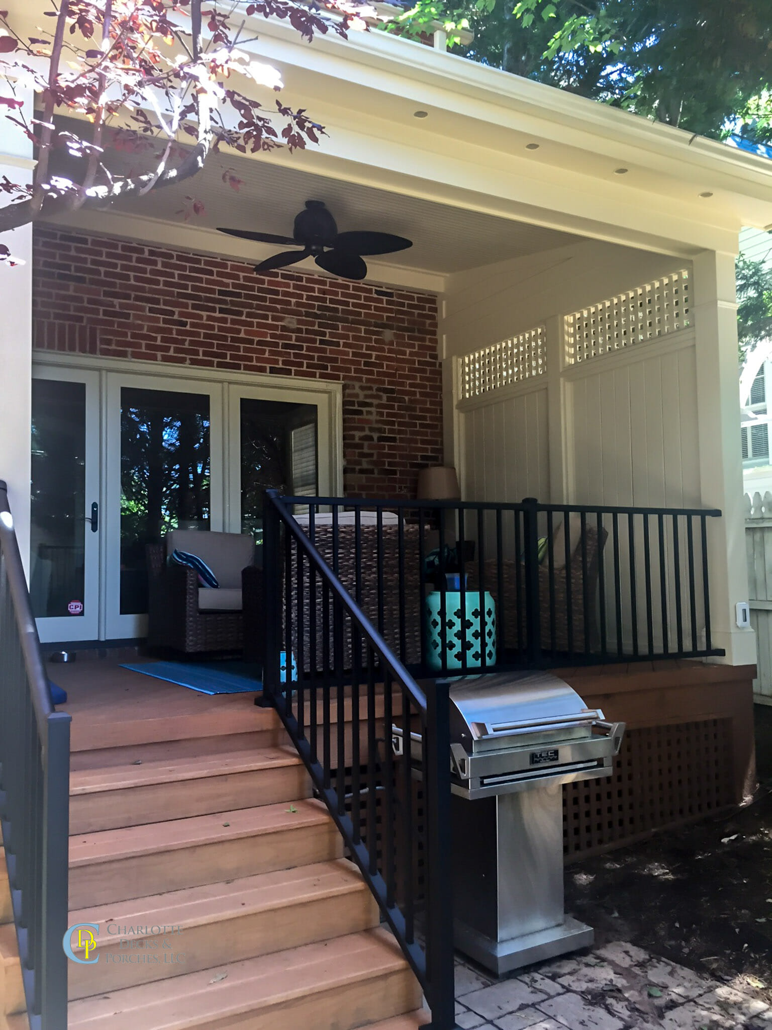 Covered Porch Photos Charlotte Decks And Porches Llc