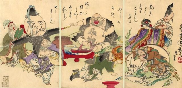 Yoshitoshi_The_Seven_Lucky_Gods