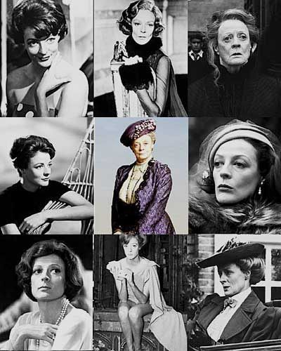 Many Faces of Maggie Smith