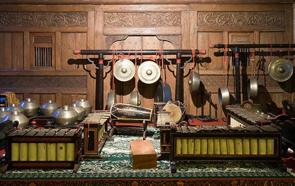 Gamelan-Instruments