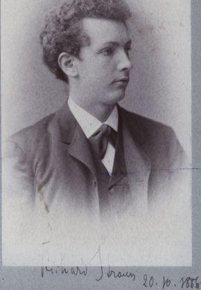 Richard Strauss Aged 22