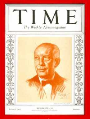 Richard Strauss  Time Magazine 1938