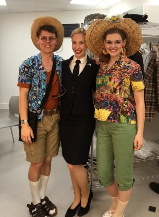 Zachary Neal, Me, and Jessica Cale
