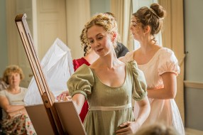 Mansfield Park - Jonathan Dove - Waterperry Opera Festival - 17th August 2018 Director/Designer - Rebecca Meltzer Musical Director - Ashley Beauchamp Maria Bertram - Charlotte Hoather Julia Bertram - Sarah Anne Champion Aunt Norris - Andrea Tweedale Mar