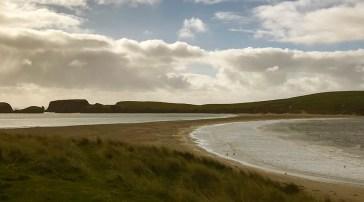 St Ninian's Tombolo Beach