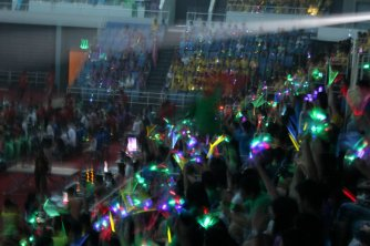 Roaring crowds
