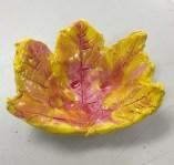 K clay leaf bowl 3