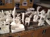 paper sculptures 9-12