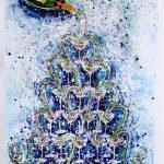 Charlotte_Olsson_Art_champagnetower_konst_happy_bubbles